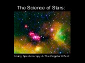 The Science of Stars: